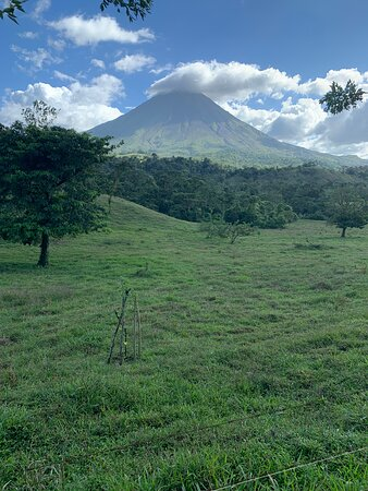 Vista volcan arenal