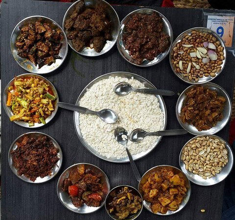 Newari Cusines  : Famous in Kathmadnu , Bhaktapur and  Lalitpur. Tasty and spicy with a variety of foods.