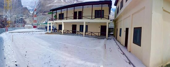 Winters at The Guest House.