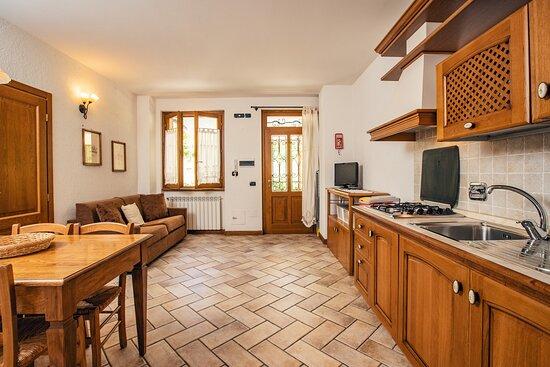 Appartamento OSMANTUS: Cucina e soggiorno