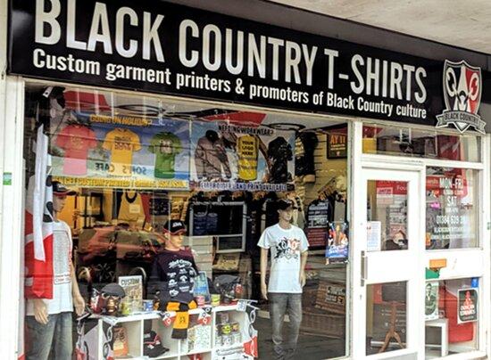 Black Country T Shirts