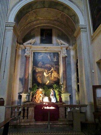 La cappella col presepe