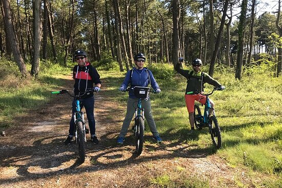 """All-terrain electric trott-2h00 guided by GPS- """"Discovering Carnac"""""""