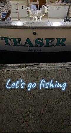 Teaser fishing charter