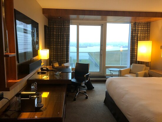 Room 1408 King Signature Harbour View Room with Juliet Balcony