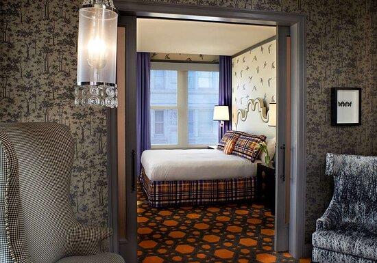Grand Suite Bedroom Entrance