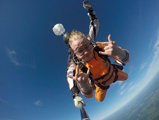St. Petersburg, Nga: Прыжок с парашютом