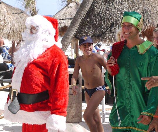 Mexico: Christmas on the beach ! Playa del Carmen