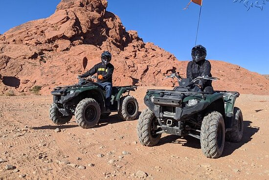 Valley of Fire Full-Day ATV Tour with...