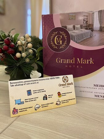 """St. Petersburg, Nga: Отель """"Гранд Марк""""  У нас Вы можете заказать почти любую дополнительную услугу не выходя из номера.  Берегите себя и путешествуйте безопасно! А мы Вам в этом поможем."""