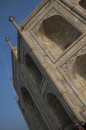 Agra Taj Mahal slanci da sotto