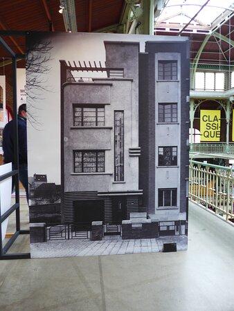 Brussels, Les Halles Saint Géry, Architecture Exhibition 'Tenaerts et moi'