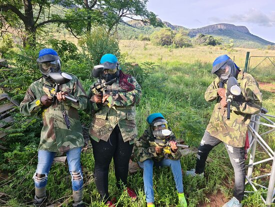 Mud And Dust Paintball