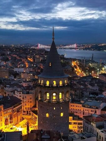 Galatea Tower İstanbul 🇹🇷  Travel With Reza +905070497462  Please do not hesitate to contact me