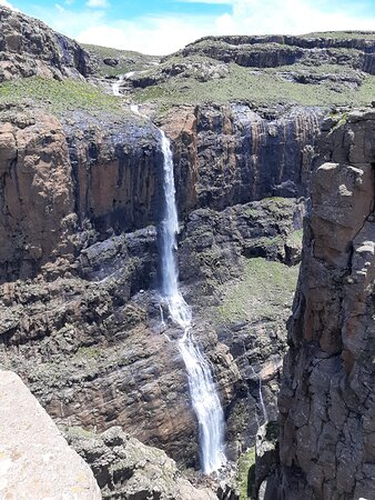 We have seen the beautiful long dropping of water falls now our trip is complete.