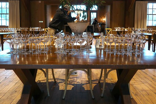 Blackberry Farm, 1471 W Millers Cove Rd, Walland, TN - December - Event [Wine Geek] in the multi-functional Bramble Hall configured for wine tastings