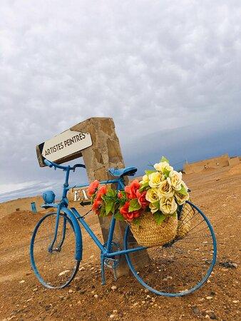 Colored bike
