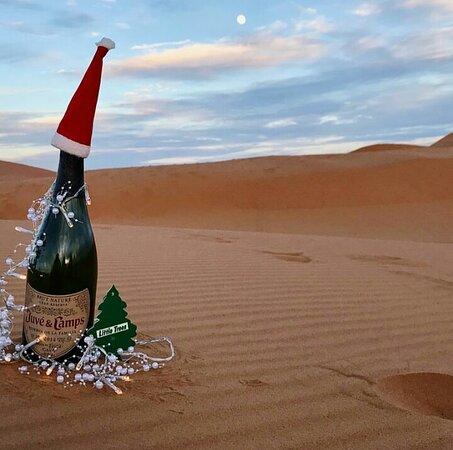 New year bottle in Merzouga