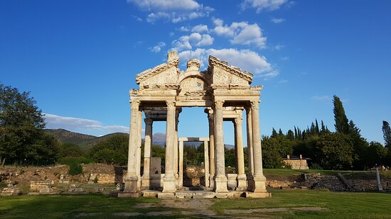 Denizli, Turkey: Aphrodisias a Greek Hellenistic city in Caria, western Anatolia.