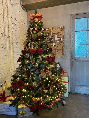 Наша елка к Новому Году!