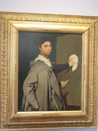 """""""Autoportrait d'Ingres"""" (1807) par Julie FORESTIER (1782-1820)"""