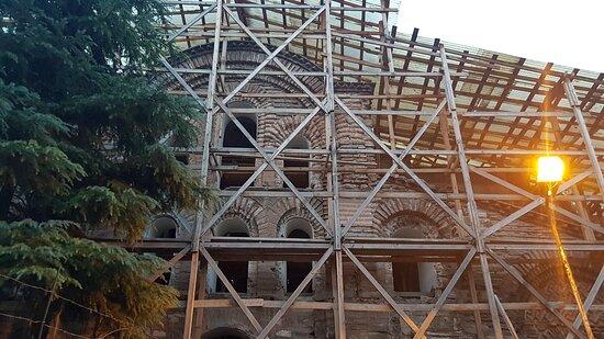 איסטנבול, טורקיה: ''Broken bits of Byzantium''   Eski Imaret Mosque    Fatih /İstanbul