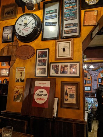 It's always Guinness time at The Auld Dubliner.