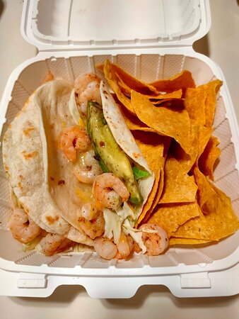 Lava Lava Shrimp Tacos (grilled)