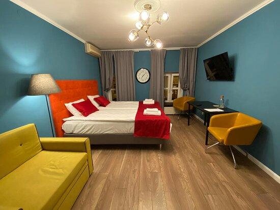 St. Petersburg, Nga: Стандартный номер для двоих с двуспальной кроватью
