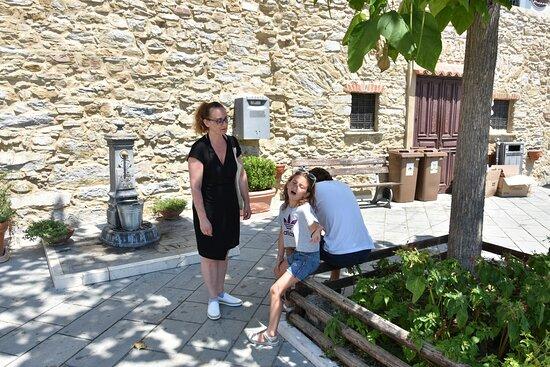 Кастеллабате, Италия: Pausa ristoratrice alla fontanella