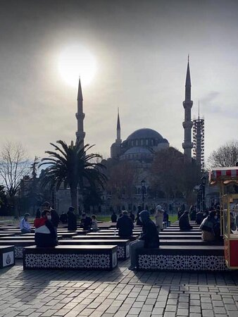 Sultan ahmad Mosque İstanbul 🇹🇷  Travel With Reza +905070497462