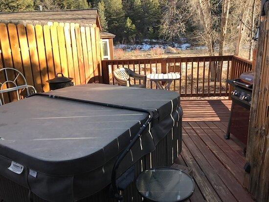 Drake, CO: private deck