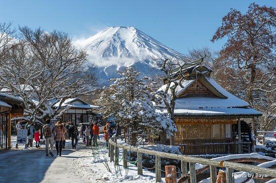 Fujiyama mountain Japan