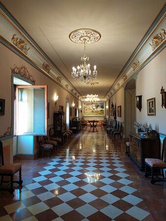 Sala romántica en el Palacio