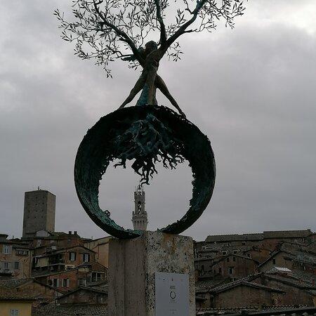 Panorama di Siena visto da una prospettiva differente