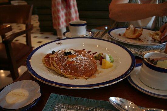 Agra colazione all'Oberoi