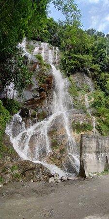 Mangan, India: Enroute Waterfalls Near Dikchu - Rang Rang Rd, L. Mangshila, Sikkim 737107  Date: June 13, 2019