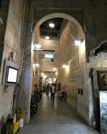 a covered passage
