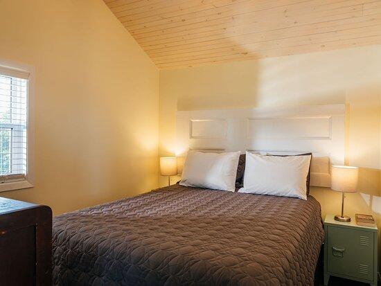 Bedroom of Grey Door Glamping Cottage