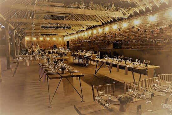 Boldre, UK: Seating for wedding