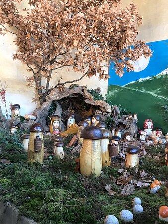 Rossana, Itália: Presepe funghi