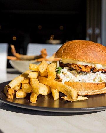 Miso Chicken Burger