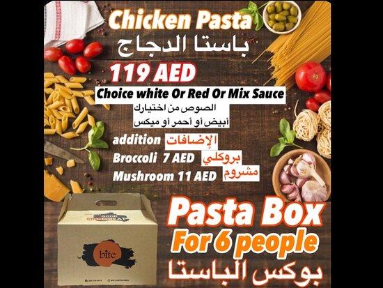 Hatta, United Arab Emirates: Pasta Box   119 AED