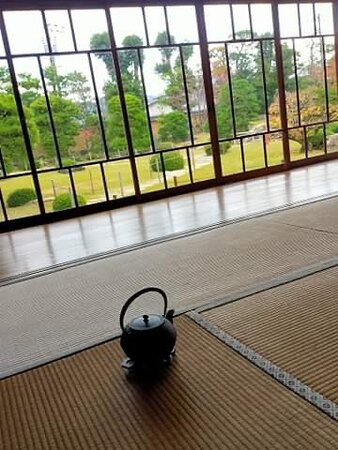 Tea ceremony about to start...
