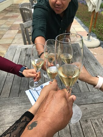"""...a Brut first """"Cheers"""" at De Grendel..."""