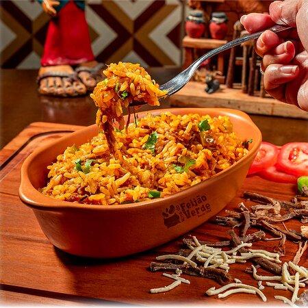 ei má, tu já provou nosso arroz de carneiro?