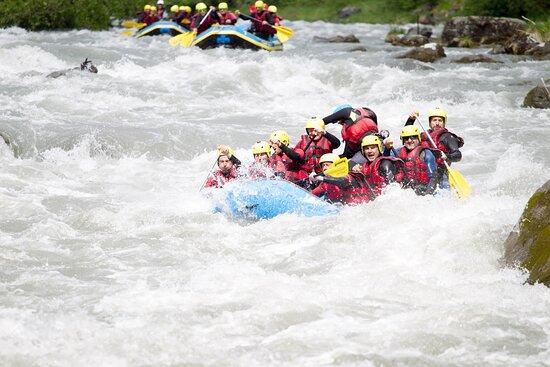 Sion, Schweiz: Rafting