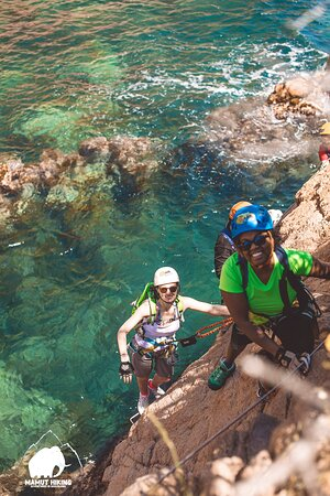Sant Feliu de Guixols, إسبانيا: Via-Ferrata-is a fun activity ,it is suitable for beginners and advanced level