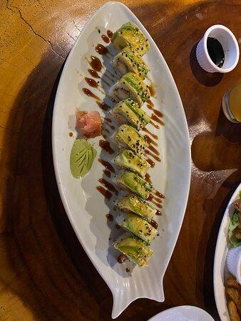 Excelente sushi!