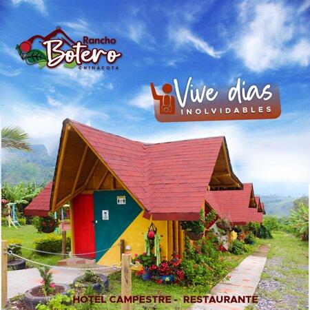 Chinacota, Colombia: Cabañas sencillas, pregunta por tus planes todo incluido